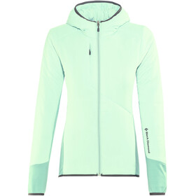 Black Diamond Deployment Hybrid Hoody Women Glacial Blue